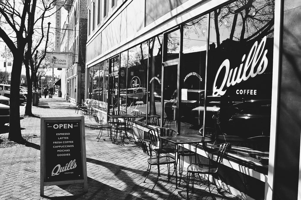 Quills Coffee New Albany Storefront