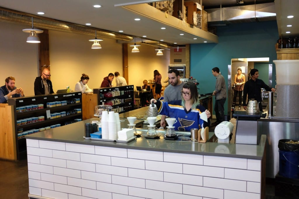 Cafe review blueprint coffee in st louis the coffee compass malvernweather Images