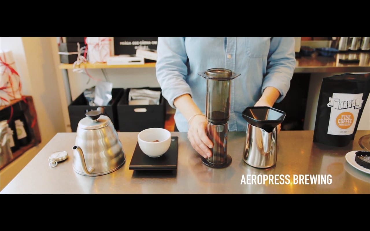 Learn How to Brew an Aeropress with Koppi