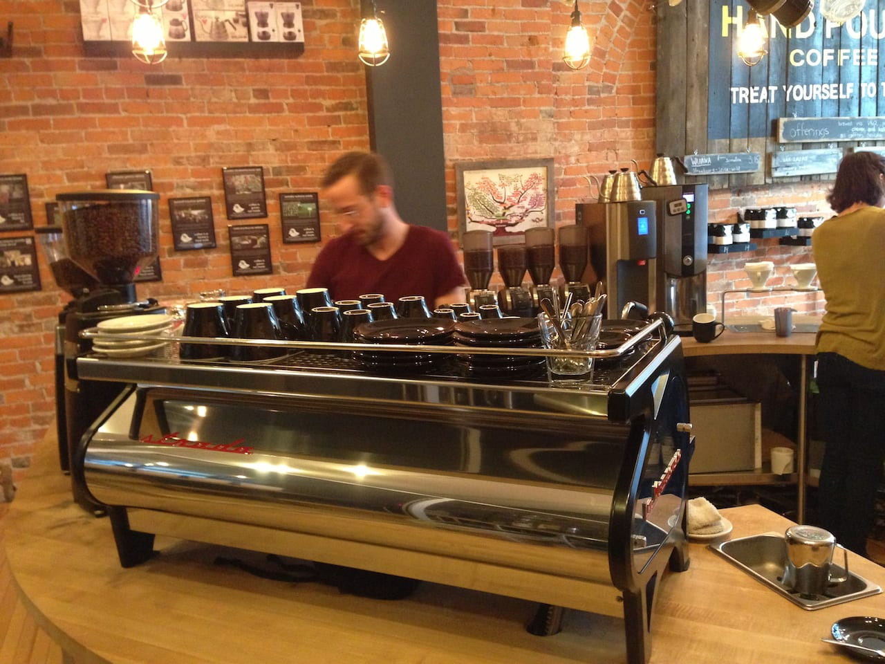 Cafe Review One Line Coffee In Columbus Ohio The