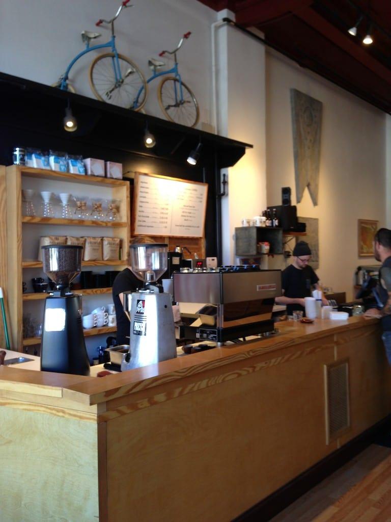 Press Coffee bar