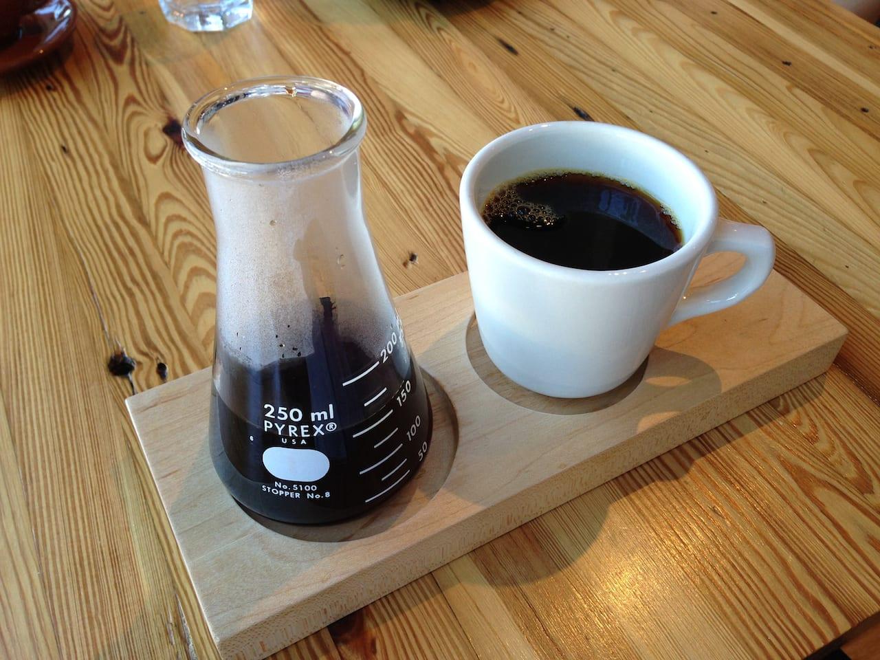 Press Coffee beaker