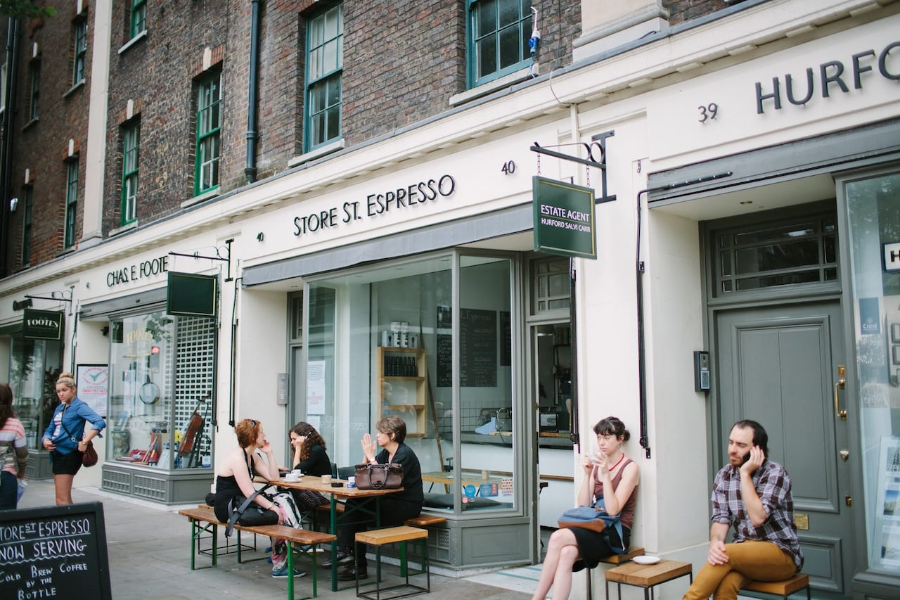 craft cafe london cafe review espresso in the coffee 1449